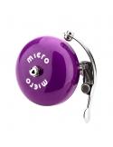 Dzwonek Micro metalowy fioletowy