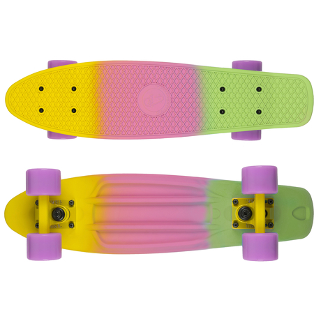 Deskorolka Fish Skateboards 3 Color S-Yellow_S-Purple_S-Green/Sum-Yellow/Sum-Purple
