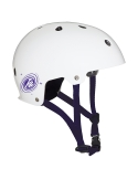 Kask K2 Jr Varsity White/Purple Mat