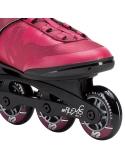 Rolki damskie K2 Alexis 80 BOA Black/Pink