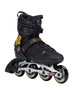 Rolki męskie K2 F.I.T. 84 BOA Black/Yellow/Red