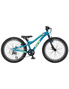 Rower GT 20 MAX niebiesko-żółty