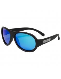 Okulary przeciwsłoneczne dla dzieci Babiators Polaryzacja Black Ops Black niebieskie szkła 0-2