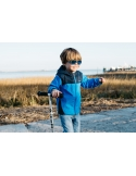 Okulary przeciwsłoneczne dla dzieci Babiators Polaryzacja Black Ops Black niebieskie szkła