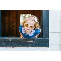 Okulary przeciwsłoneczne dla dzieci Babiators polaryzacja Wicked White