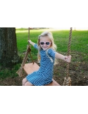 Okulary przeciwsłoneczne dla dzieci Babiators polaryzacja Princess Pink 0-3