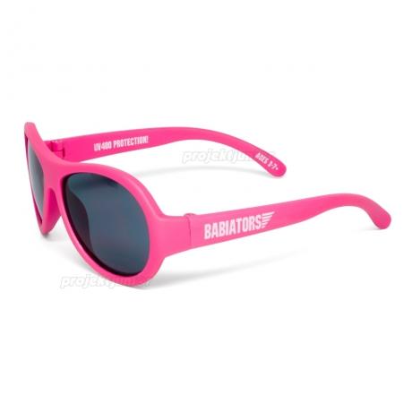 Okulary przeciwsłoneczne dla dzieci Babiators Classic popstar fuksja