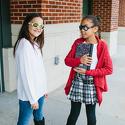 Okulary przeciwsłoneczne dla dzieci Babiators Aces Aviator Wicked White pomarańczowe szkła 6+
