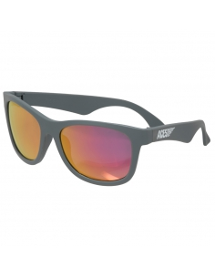 Okulary przeciwsłoneczne dla dzieci Babiators Aces Navigator Galactic Grey różowe szkła 6+