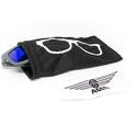 Okulary przeciwsłoneczne dla dzieci Babiators Aces Navigator Galactic Grey niebieskie szkła 6+