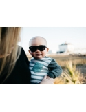 Okulary przeciwsłoneczne dla dzieci Babiators Original Navigator Black Ops Black 0-2