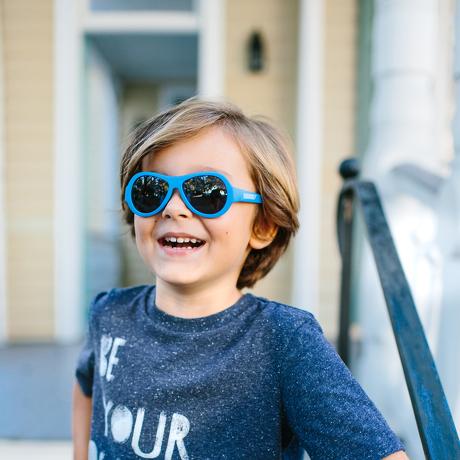 Okulary przeciwsłoneczne dla dzieci Babiators Original Aviator True Blue 3 5