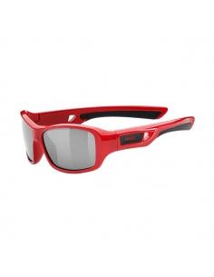 Okulary przeciwsłoneczne dla dzieci Uvex Sportstyle 505 Red