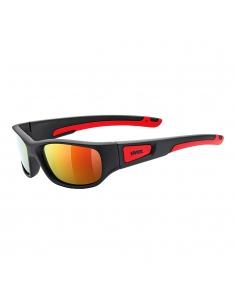 Okulary przeciwsłoneczne dla dzieci Uvex Sportstyle 506 Black Mat Red