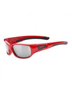 Okulary przeciwsłoneczne dla dzieci Uvex Sportstyle 506 Red