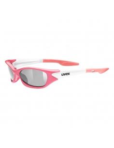 Okulary przeciwsłoneczne dla dzieci Uvex Sporty Pink White