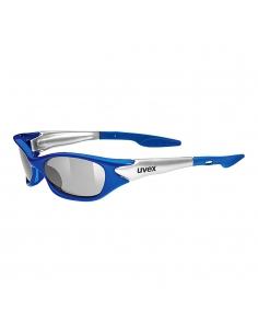 Okulary przeciwsłoneczne dla dzieci Uvex Sporty Blue Silver