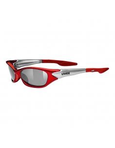 Okulary przeciwsłoneczne dla dzieci Uvex Sporty Red Silver