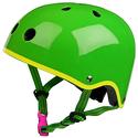 Kask Micro neonowy zielony