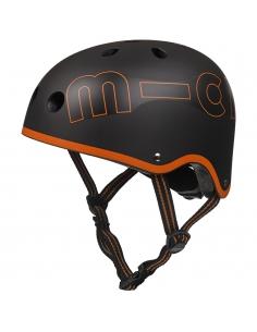 Kask Micro czarno-pomarańczowy