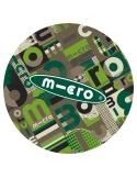 Rękaw na drążek hulajnogi Maxi Micro zielony word khaki