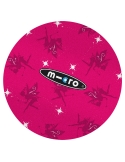 Rękaw na drążek hulajnogi Maxi Micro różowy we wróżki