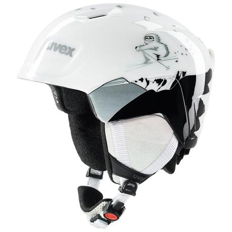 Kask narciarski Uvex Manic White Yeti