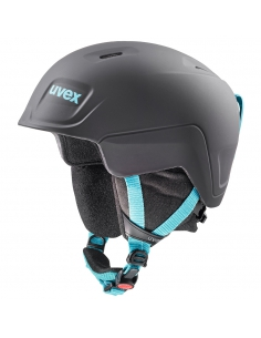 Kask narciarski Uvex Manic Pro Black Petrol Mat