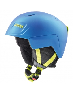 Kask narciarski Uvex Manic Pro Blue/Lime Met Mat