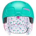 Kask narciarski Uvex Manic Pro Mint/Pink Met Mat