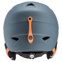 Kask narciarski Uvex Airwing 2 Pro Titanium/Orange Mat