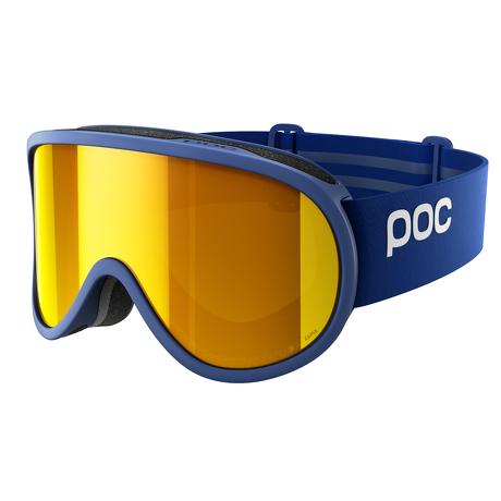 Gogle narciarskie POC Retina Clarity Basketane Blue/Spektris Orange