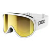 Gogle narciarskie POC Retina Hydrogen White/Spektris Gold