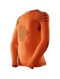 Koszulka termoaktywna dla dzieci X-Bionic INVENT pomarańczowa