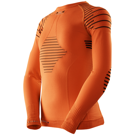 5adcf21652a93e Koszulka termoaktywna dla dzieci X-Bionic INVENT pomarańczowa ...