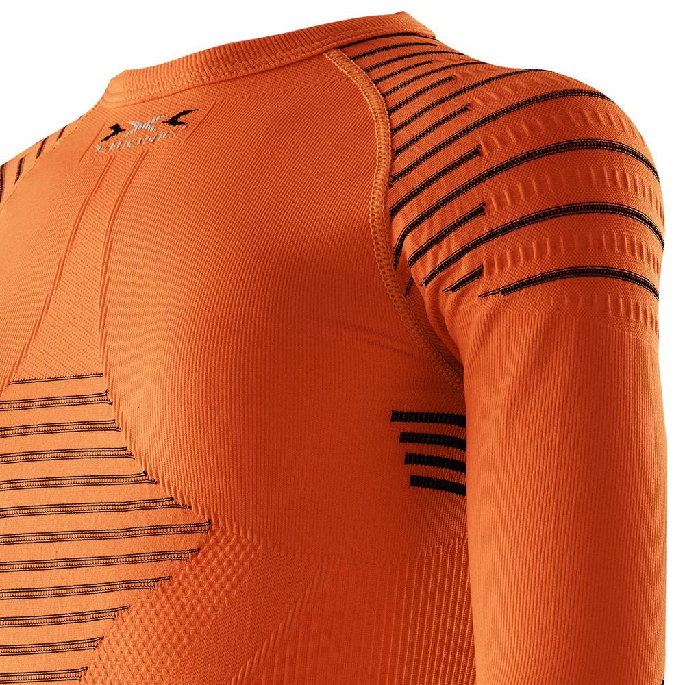 339dbb7933927b Koszulka termoaktywna dla dzieci X-Bionic INVENT pomarańczowa. Next