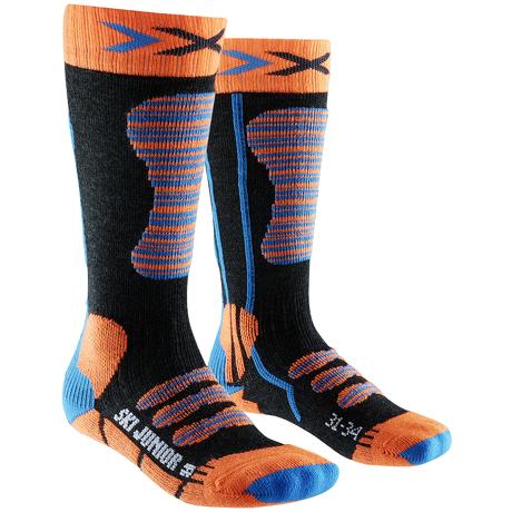 Skarpety narciarskie dla dzieci X-Socks SKI JUNIOR pomarańczowe