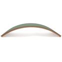 Deska balansująca Wobbel Original lakierowana z filcem Forest Green