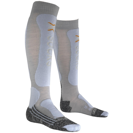 Skarpety narciarskie dla kobiet X-Socks Skiing Comfort szare