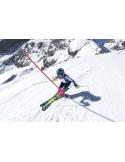 Zestaw: Narty Völkl Racetiger junior Yellow + wiązania Marker 4.5 VMOTION JR
