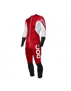 Guma narciarska POC Skin GS JR Bohrium Red/Hydrogen White