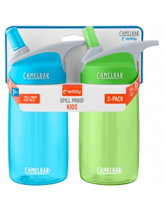 2-Pack butelka bidon Camelbak Eddy Kids 0,4l Light Blue/Grass