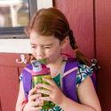 Termiczna butelka bidon Camelbak Eddy Kids Insulated 0,4l Purple Swans