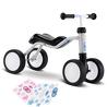 Jeździk rowerek czterokołowy Puky Wutsch jasnoszary z naklejkami