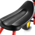 Jeździk rowerek czterokołowy Puky Pukylino jasnoszary z naklejkami