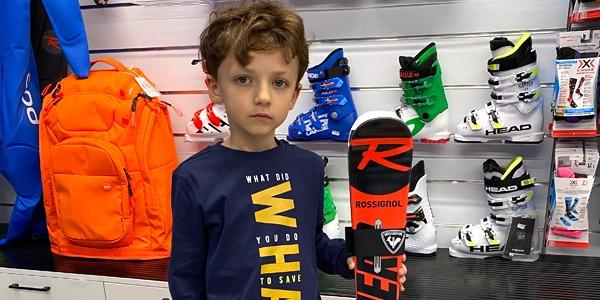 Jak dobrać rodzaj i długość nart dla dziecka?