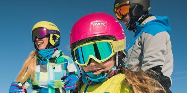 Gogle narciarskie dla dzieci